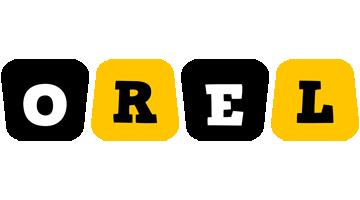 Orel boots logo