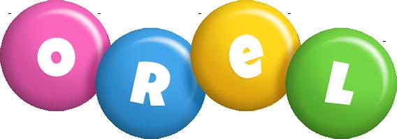 Orel candy logo
