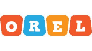 Orel comics logo