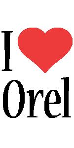 Orel i-love logo