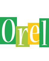 Orel lemonade logo
