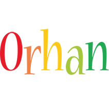 Orhan birthday logo
