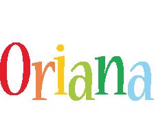 Oriana birthday logo