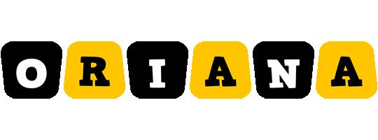 Oriana boots logo