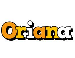 Oriana cartoon logo
