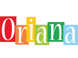Oriana colors logo
