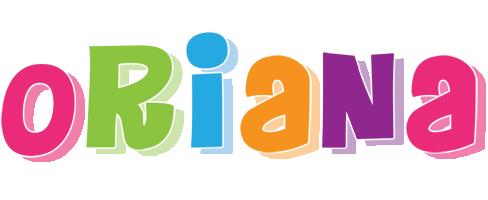 Oriana friday logo