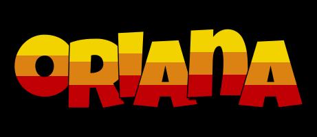 Oriana jungle logo