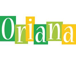 Oriana lemonade logo
