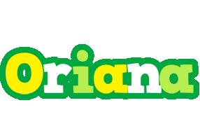 Oriana soccer logo