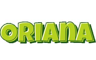 Oriana summer logo