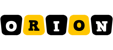 Orion boots logo