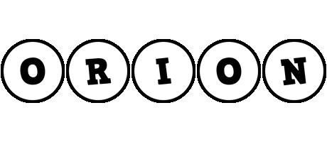 Orion handy logo
