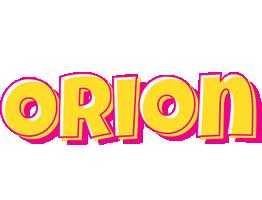 Orion kaboom logo