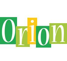 Orion lemonade logo