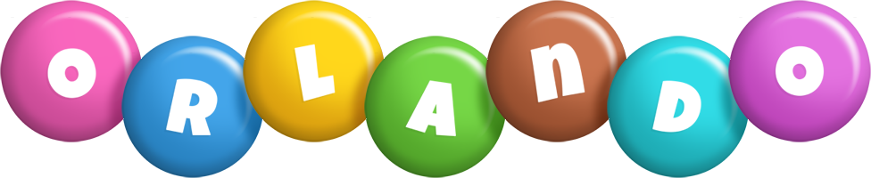 Orlando candy logo