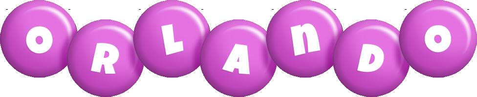 Orlando candy-purple logo
