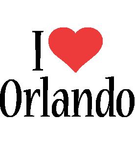 Orlando i-love logo