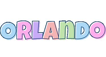 Orlando pastel logo