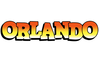 Orlando sunset logo