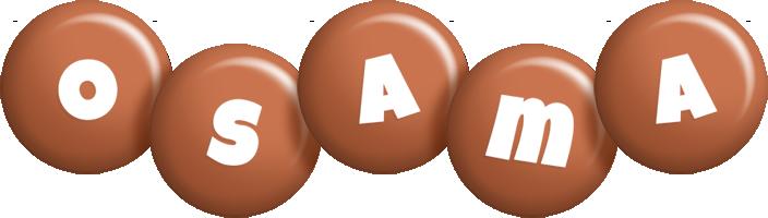 Osama candy-brown logo