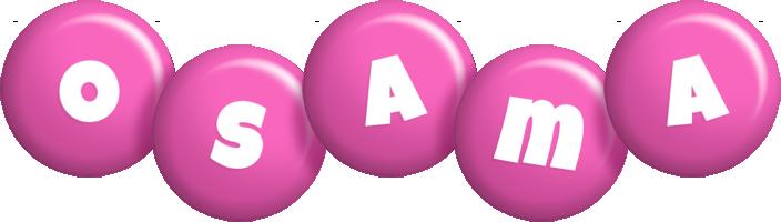 Osama candy-pink logo