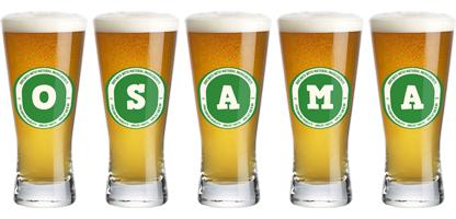 Osama lager logo