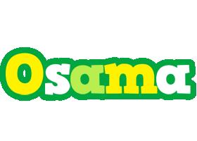 Osama soccer logo