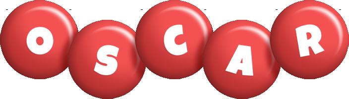 Oscar candy-red logo