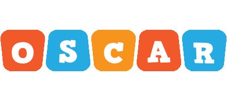Oscar comics logo