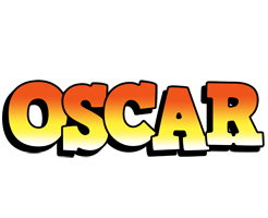 Oscar sunset logo