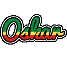 Oskar african logo
