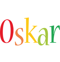 Oskar birthday logo