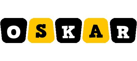 Oskar boots logo
