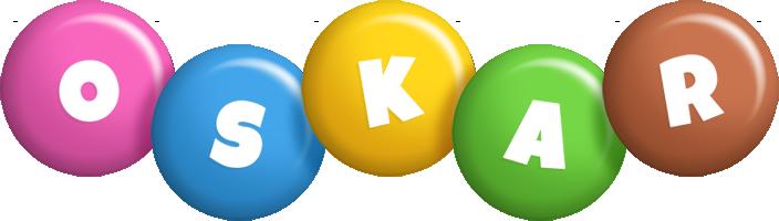 Oskar candy logo