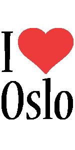 Oslo i-love logo