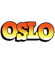 Oslo sunset logo
