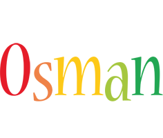 Osman birthday logo
