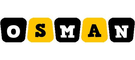Osman boots logo