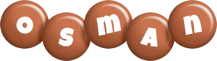Osman candy-brown logo
