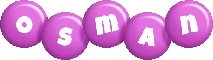 Osman candy-purple logo