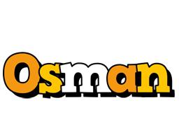 Osman cartoon logo