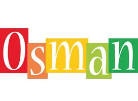 Osman colors logo