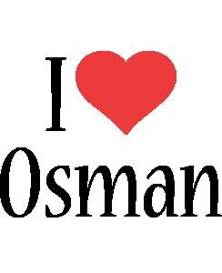 Osman i-love logo
