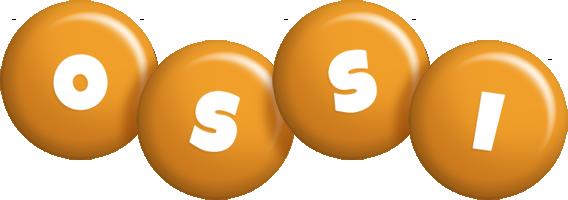 Ossi candy-orange logo