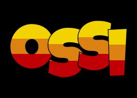 Ossi jungle logo
