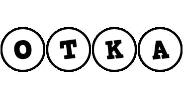 Otka handy logo