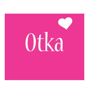 Otka love-heart logo