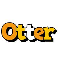 Otter cartoon logo