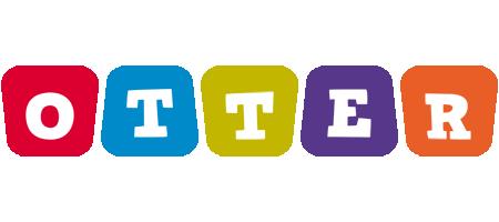 Otter kiddo logo